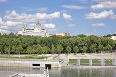 Madrid stad, Spanien, Europa Arkivbilder