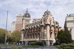 Madrid, stadsmening Royalty-vrije Stock Afbeelding