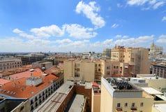 Madrid-Stadt-Skyline, Spanien lizenzfreie stockfotografie