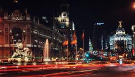 Madrid-Stadtzentrum Lizenzfreies Stockfoto