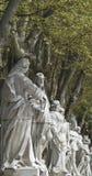 madrid statyer royaltyfri foto