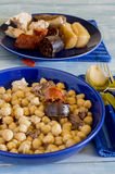 Madrid stew, typical Spanish Royalty Free Stock Photography
