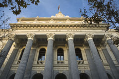 Madrid stock exchange Royalty Free Stock Photo