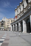 Madrid Streetscape Royalty Free Stock Photo