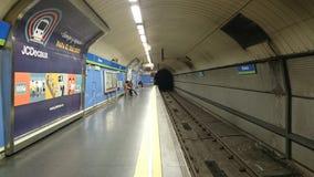 Madrid subterráneo fotos de archivo