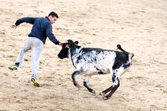 MADRID SUBURB OF SAN SEBASTIAN DE LOS REYES - SEPTEMBER 29: Men Royalty Free Stock Photo