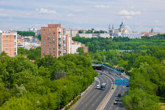 Madrid in a summer day Royalty Free Stock Photography