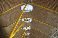 Madrid T4, Barajas Adolfo Suarez Roof Fotos de archivo