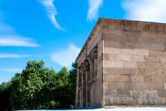 Madrid, The Temple of Debod Stock Photography
