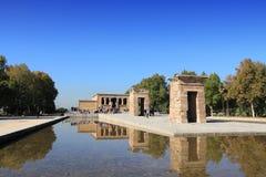 Madrid - templo de Debod Fotos de archivo