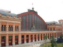 Madrid train station Royalty Free Stock Photo