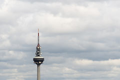 Madrid TV Tower - Torrespaña Stock Image