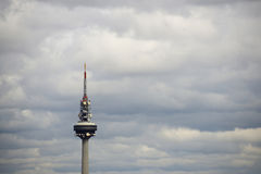 Madrid TV Tower - Torrespaña Royalty Free Stock Image