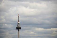 Madrid TV Tower - Torrespaña Royalty Free Stock Image