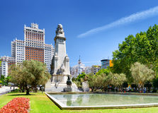 View of Madrid Royalty Free Stock Images
