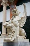 Madrid Wing lion Royalty Free Stock Image