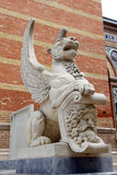 Madrid Wing lion Stock Images