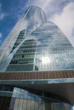 Madrid - Wolkenkrabber Torre Espacio Stock Afbeelding
