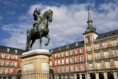 Madrid2 Royalty-vrije Stock Fotografie