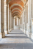 Madridl Palace corridor Royalty Free Stock Images