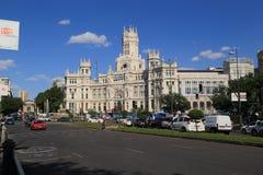 MadridRathaus Lizenzfreies Stockbild