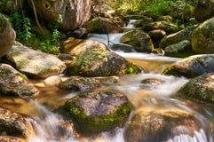 Madriu-Fluss, Andorra Stockbild