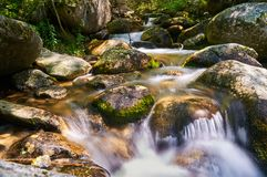 Madriu river, Andorra Stock Photos