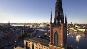 Madrugada de Estocolmo Suecia almacen de video