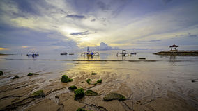Madrugada en Bali fotografía de archivo libre de regalías