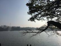 Madrugada en Bangalore foto de archivo libre de regalías