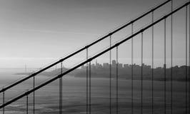 Madrugada en San Francisco Foto de archivo libre de regalías