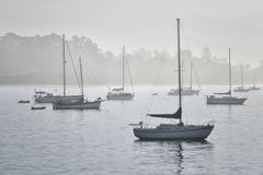 Madrugada en Santa Barbara Fotos de archivo