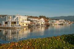 Madrugada en Sausalito, California Fotografía de archivo