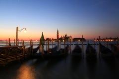 Madrugada en Venecia Imagenes de archivo