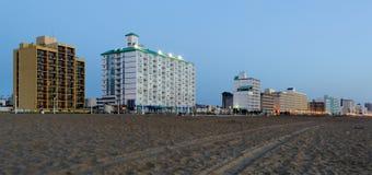 Madrugada en Virginia Beach 2 Imagenes de archivo