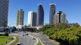 Madrugada Gold Coast Australia Fotos de archivo libres de regalías