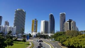 Madrugada Gold Coast Australia Imágenes de archivo libres de regalías