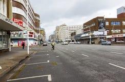 Madrugada reservada en Anton Lembede Street en Durban fotos de archivo libres de regalías