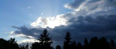 Madrugada Sun fotos de archivo libres de regalías