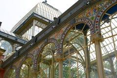 Madryt budynków historyczni parki Obrazy Royalty Free