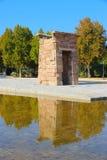 Madryt, Debod świątynia - Zdjęcie Stock