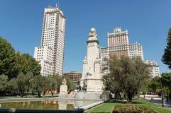 Madryt Espa plaza de Fotografia Royalty Free