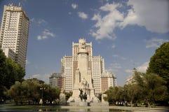 Madryt Espa plaza de Zdjęcie Royalty Free