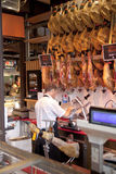 MADRYT HISZPANIA, MAJ, - 28, 2014 Mercado San Miguel rynek, sławny jedzenie rynek w centre Madryt Obrazy Stock