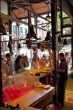 MADRYT HISZPANIA, MAJ, - 28, 2014 Mercado San Miguel rynek, sławny jedzenie rynek w centre Madryt Obrazy Royalty Free
