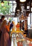 MADRYT HISZPANIA, MAJ, - 28, 2014 Mercado San Miguel rynek, sławny jedzenie rynek w centre Madryt Obraz Royalty Free