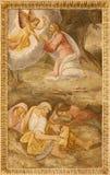 Madryt - Jezusowa modlitwa w Gethsemane ogródzie zdjęcia royalty free