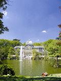 Madryt kryształu pałac Obraz Royalty Free