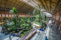 Madryt, maj 25,2015: Tropikalny zielony dom, lokacja w 19th Zdjęcie Stock