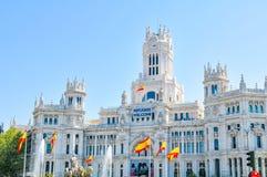 Madryt miasto, Hiszpania Obraz Royalty Free